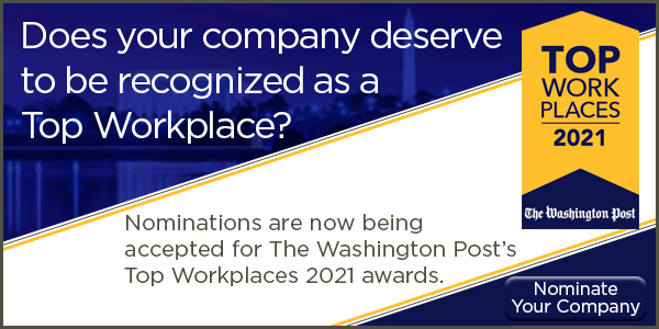 2021 Top Workplaces Nomination
