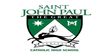 Saint John Paul the Great Catholic High School logo