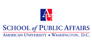 American University School of Public Affairs logo